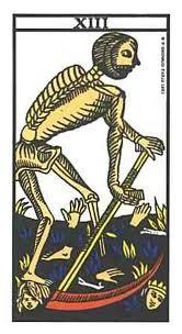 Tarot - La carte de La Mort dans Cartomancie la-mort